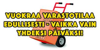 Varastotilaa ja tavarahotelli Tampereen seudulla