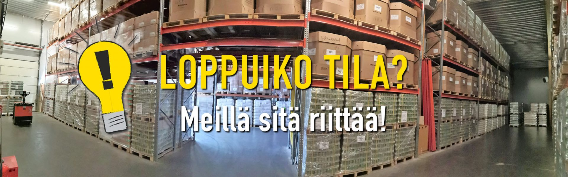Varasto- ja tavarahotelli yksityisille ja yrityksille | Kangasala-Tampere